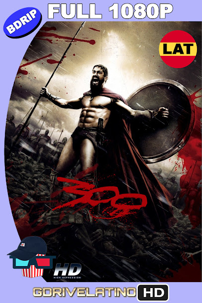 300 (2006) BDRip 1080p Latino-Ingles MKV