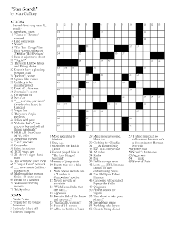 Matt Gaffney's Weekly Crossword Contest: March 2012
