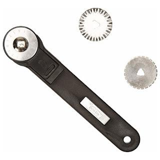 Nożyk rolkowy Folia 3 ostrza