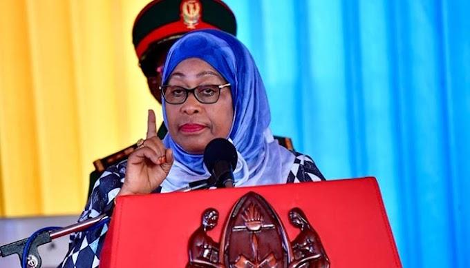Samia amzungumzia Waziri aliyemfukuza Mzee Mwinyi