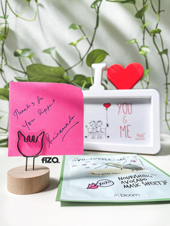 Hadiah Giveaway Dari Blogger Suria Amanda