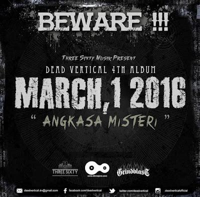 Dead Vertical New Album, Angkasa Misteri, Dead Vertical New Album Angkasa Misteri, Dead Vertical Angkasa Misteri