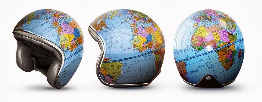 Helm Unik Globe