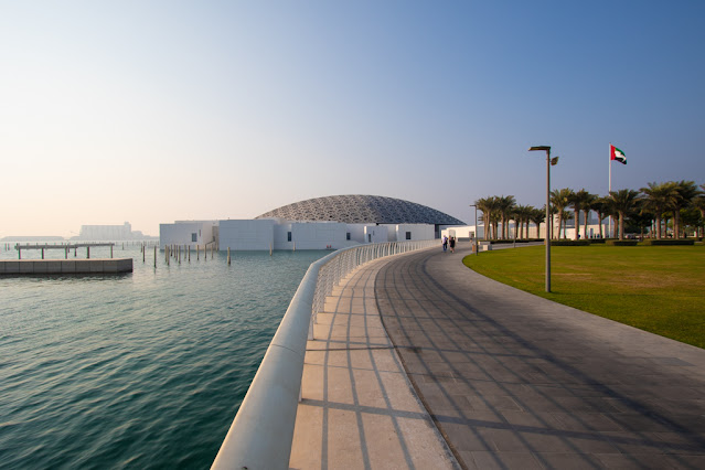 Esterno Abu Dhabi Louvre