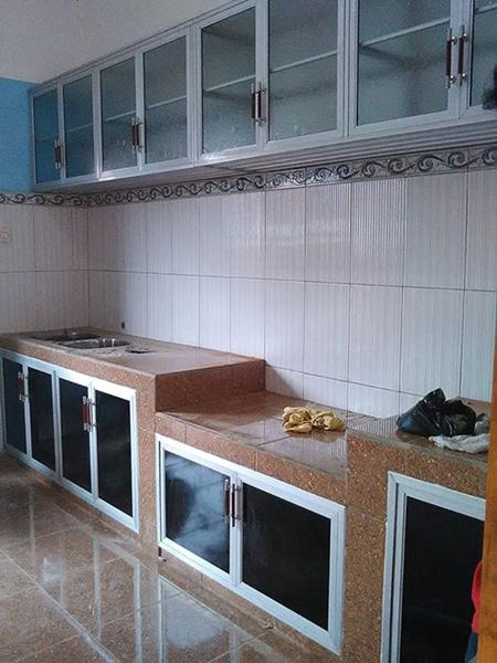 Harga Kitchen Set Aluminium