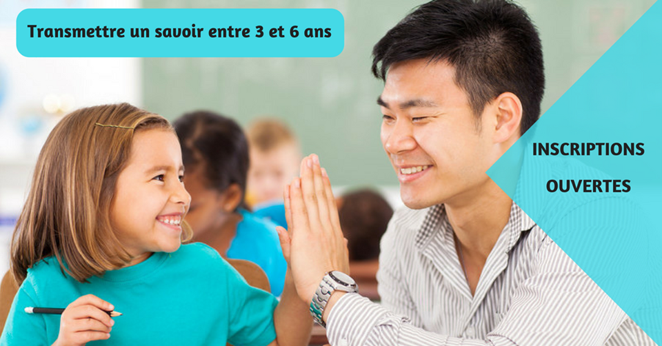 Formation 3-6 ans