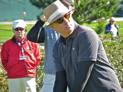 Actor Andy Garcia at the AT&T Pebble Beach National Pro-Am Golf Tournament
