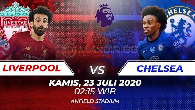 Prediksi Liverpool Vs Chelsea, Kamis 23 Juli 2020 Pukul 02.15 WIB @ Mola TV