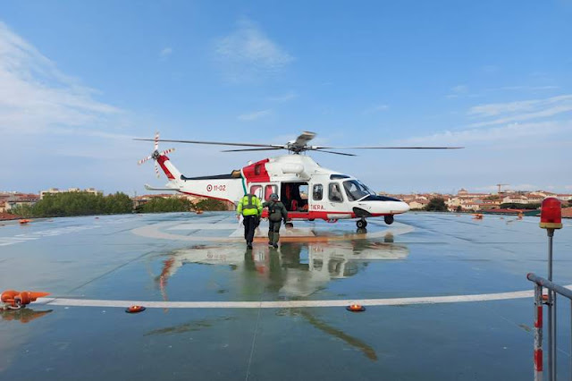 Guardia Costiera evacuazione medica mercantile