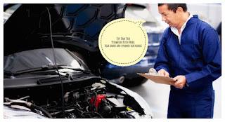 Perawatan rutin komponen mobil