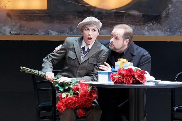 Richard Strauss: Arabella - Chen Reiss (Zdenka), Benjamin Bruns (Matteo) - Vienna State Opera (Photo Wiener Staatsoper | Michael Pöhn)