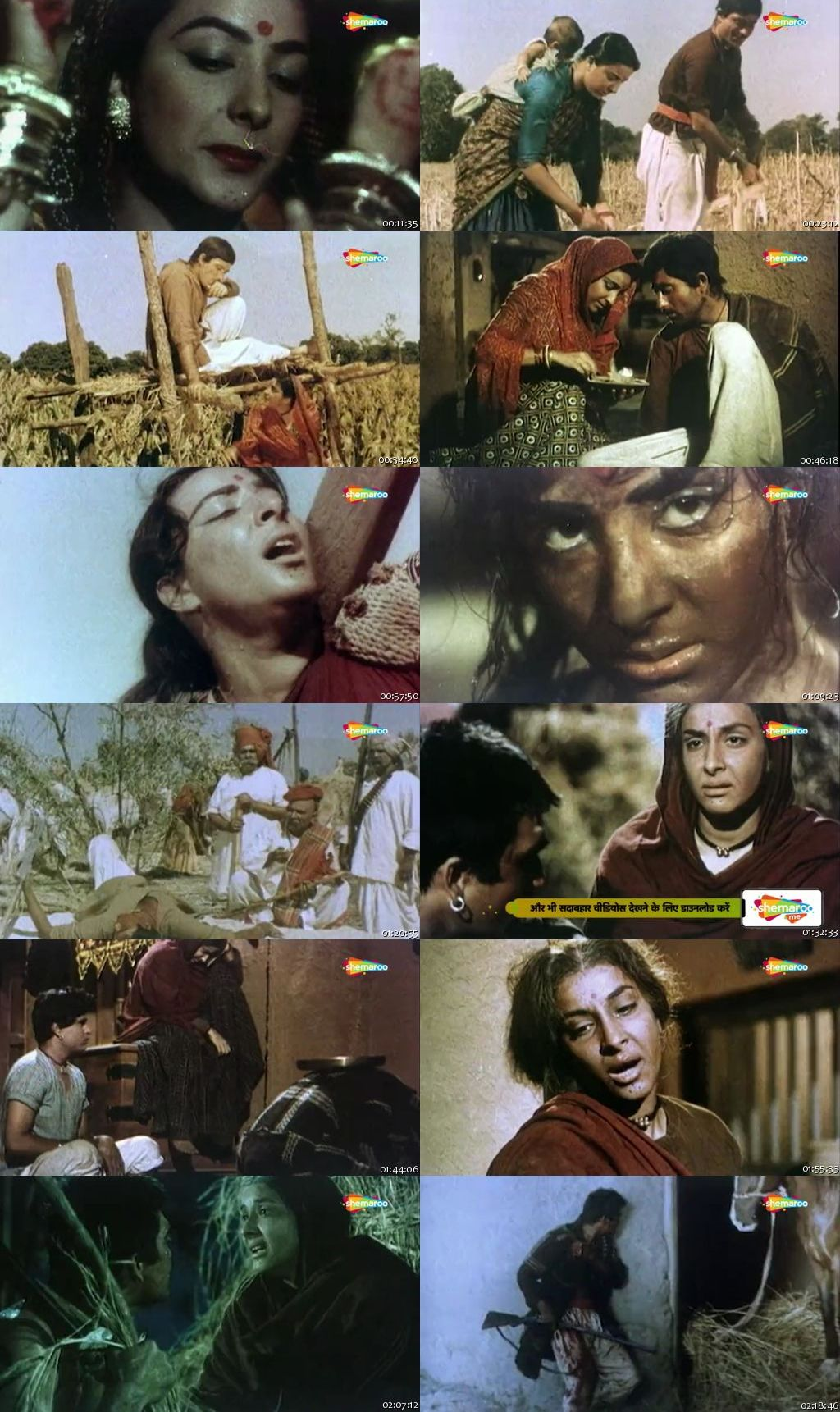 Mother India 1957 Full Movie Download HDRip 480p 300Mb