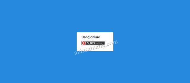 Share code đếm số người đang online cực khủng cho blogspot
