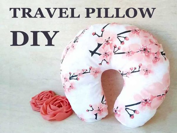 DIY Travel Neck Pillow Tutorial