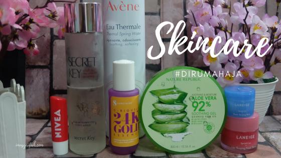 Skincare #DiRumahAja