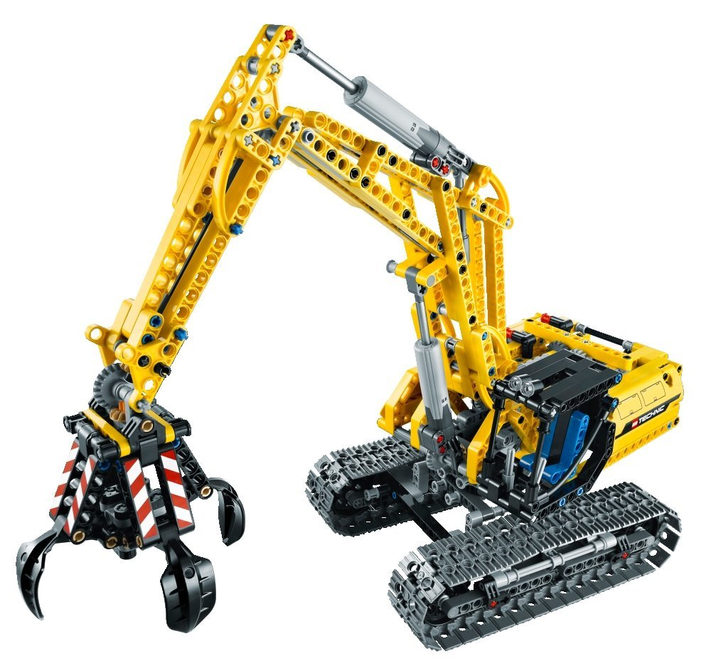 my lego style lego technic excavator 42006. Black Bedroom Furniture Sets. Home Design Ideas