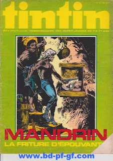 Tintin numéro 35, 1975, Mandrin