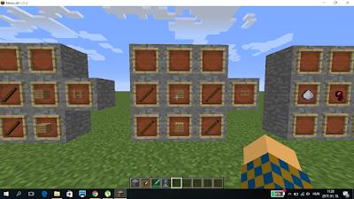 minecraft crafting kerítés ajtó