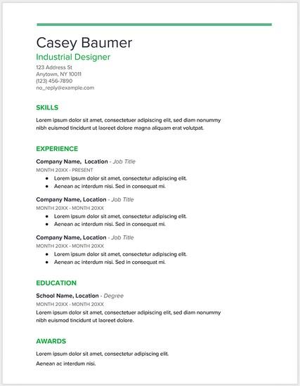 Template Riwayat Hidup Format Microsoft Office Word Versi 8