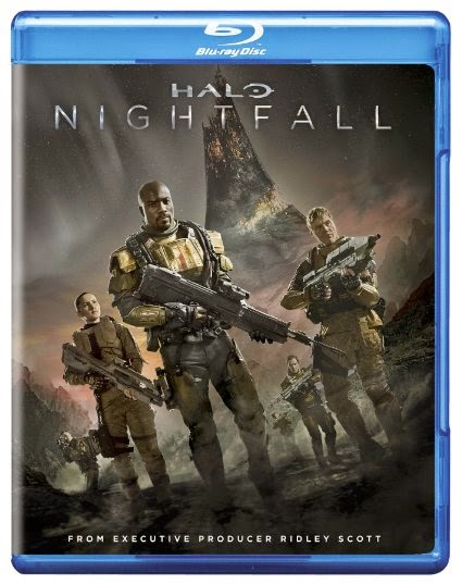 Halo Nightfall Cover Caratula Blu ray