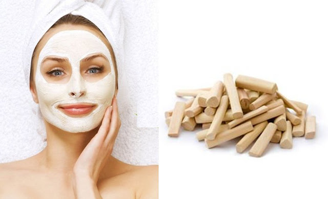 Antiaging Sandalwood herbal face pack