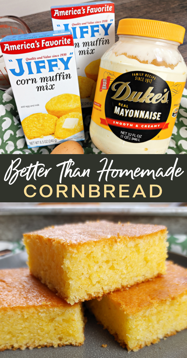 Better-Than-Homemade Cornbread by South Your Mouth - WEEKEND POTLUCK 499