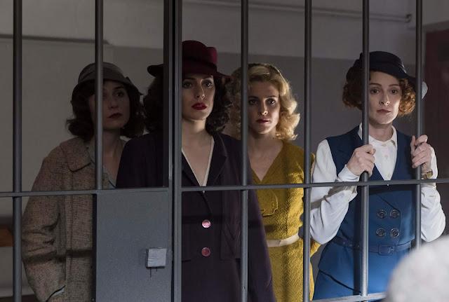 Blanca Suárez, Maggie Civantos, Nadia de Santiago, Ana Polvorosa, La Chicas del Cable, cuarta temporada, Netflix