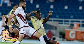 Vinotinto cayó por goleada vergonzosa en su partido contra Colombia