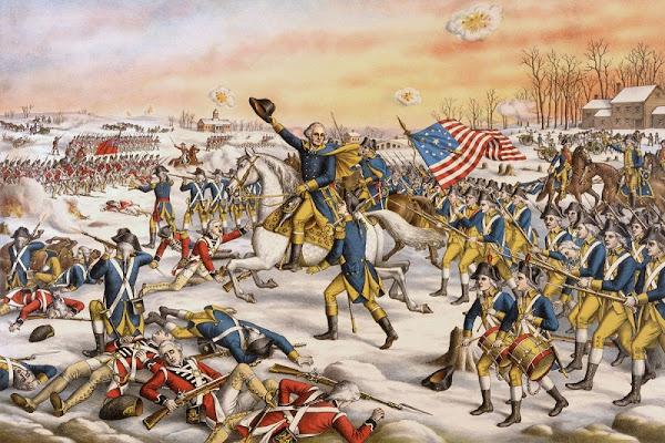 REVOLUSI AMERIKA : Perang Kemerdekaan Melawan Inggris
