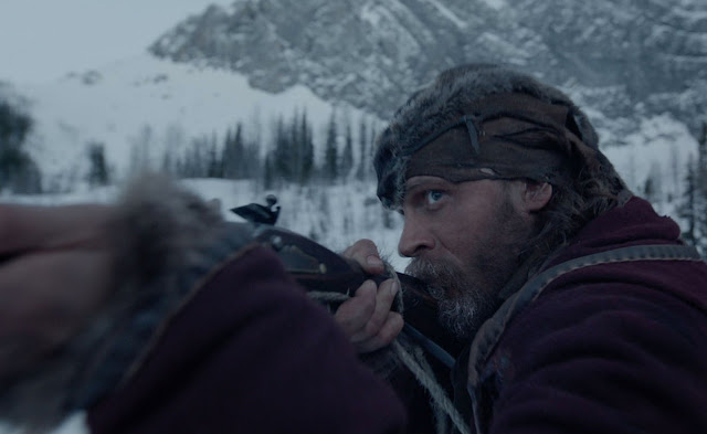 Tom Hardy as John Fitzgerald in The Revenant