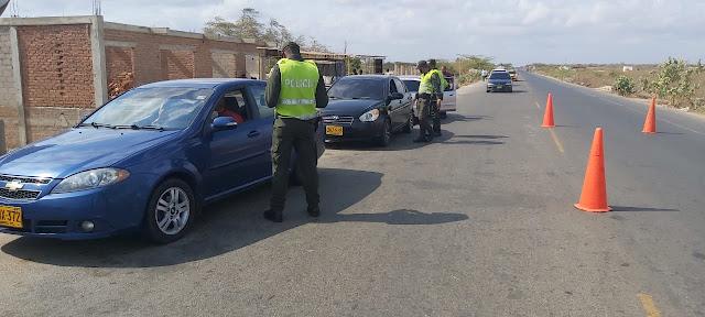 En La Guajira: Más de 4 mil 500 personas Multadas con  $936.323, por violar aislamiento preventivo obligatorio