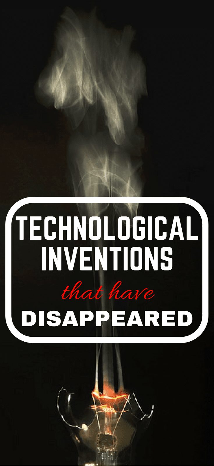 Technological Inventions That Have Disappeared