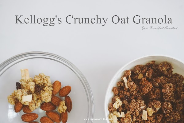 💗Kellogg's Crunchy Oat Granola Your Breakfast Essential!💗