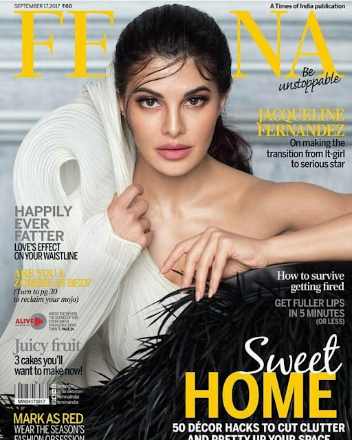 Jacqueline Fernandez On Femina September 2017 Issue