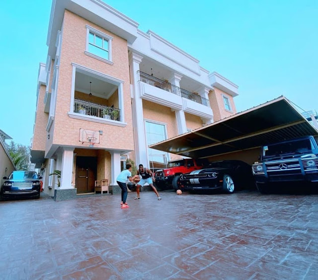 Beautiful Photos of Inside Of Peter Okoye's $3.8 Million Banana Island Mansion