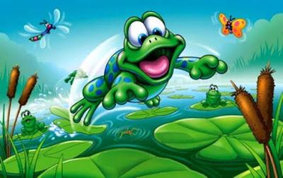 лягушки в болоте