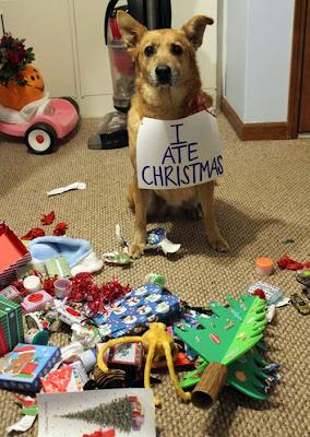 I ate Christmas