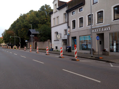 Popup Radweg Ludwigstraße Traunstein