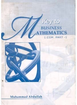 Business Maths I Com part 1 Keybook and solution free download