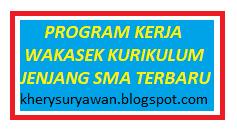 File Pendidikan Program Kerja Wakasek Kurikulum SMA Terbaru Tahun 2020/2021