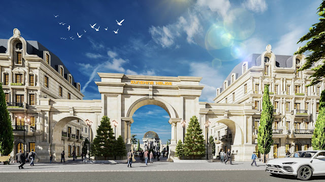 Dự án Sunshine Residence Helios Ciputra Shopvillas Shophouse Tây Hồ Tây Hà Nội - CĐT Sunshine Group