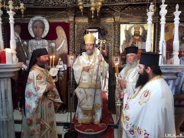 ИПЦ Греции: Праздник святой великомученицы Маркеллы на о. Хиос. ФОТО
