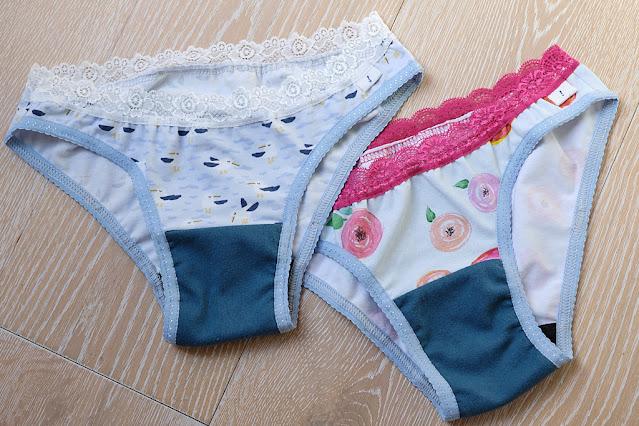sew period underwear panties thinx cheeky light flow Ohhh Lulu Celeste panties