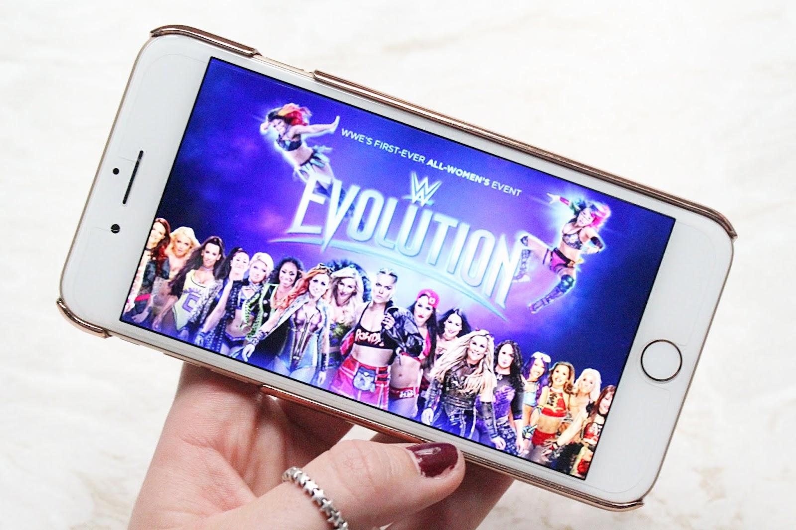 WWE Evolution Predictions