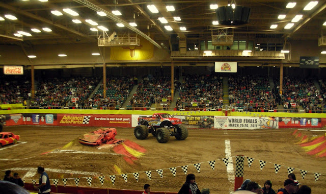 monster trucks at albuquerque monster jam