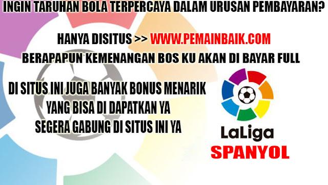 Daftar Pertandingan Liga Spanyol Hari Ini