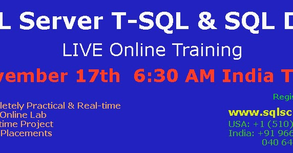 Online tools to practise and improve SQL skills