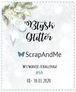 Kartka ślubna z błyskiem/DT ScrapAndMe