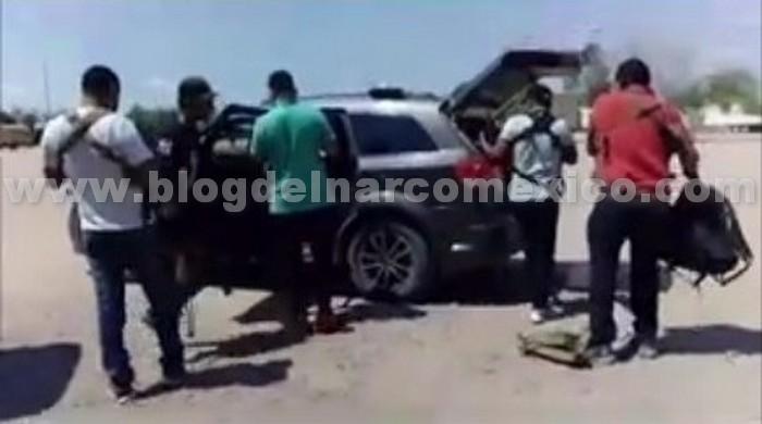 Los Salazar, brazo armado del Cartel de Sinaloa exhiben en video a joven levantado en Empalme; Sonora