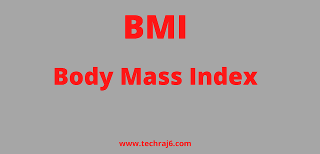 BMI full form, What is the full form of BMI